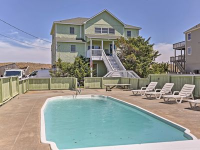 Photo for NEW! Oceanfront Waves Home w/Pool & Game Room!