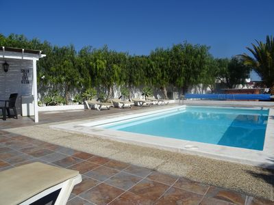 Photo for Traditional 3 bedroom detached villa, private heated pool, Jacuzzi. Free Wifi.