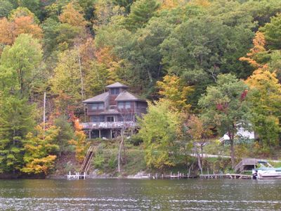 Photo for Two bedroom home on Northwest shore of Beautiful Lake St. Catherine with kayaks