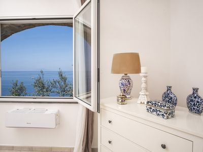 Photo for Bright and charming VILLA VALENTINA with private panoramic terrace and sea view