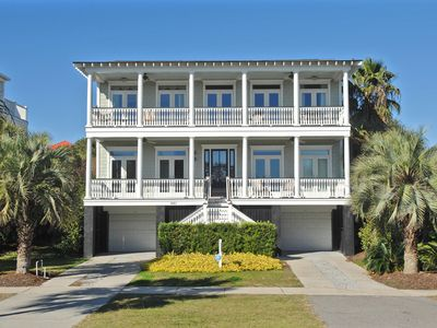 Photo for Private Pool | Partial Oceanview | Wifi | Close Beach Access | 5BR Isle of Palms Home