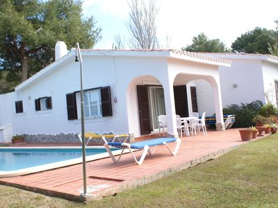 Photo for Lovely Detach Property In Rustic Style Located In Son Bou Beach-menorc