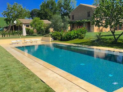 Photo for Tranquil Villa in Recanati Italy with Private Pool