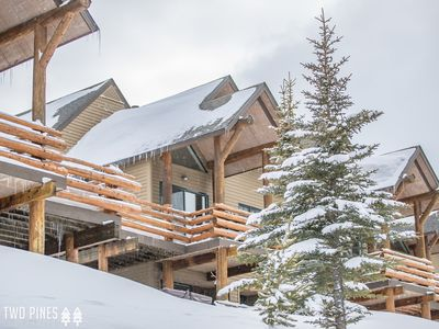 Photo for Ski-In/Ski-Out Saddle Ridge Home- Access to Private Moonlight Club & Amenities!