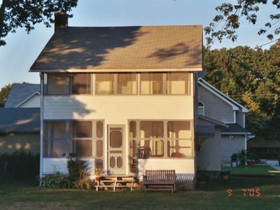 Photo for Charming Quiet Updated 1921 Cottage at West Beach Connecticut