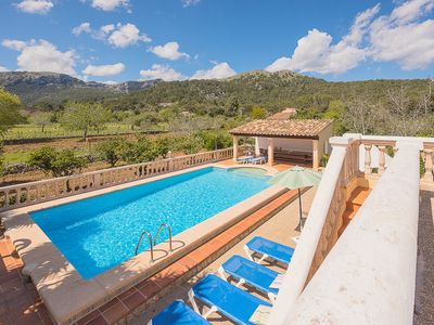 Photo for COLONYA JAUME- Country house, 3 bedrooms, private pool and near Pollensa