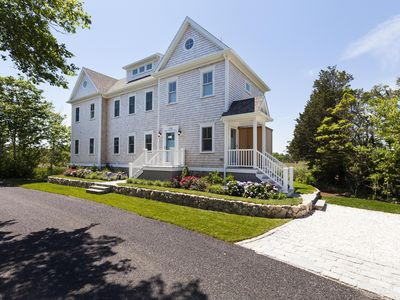 Photo for Brand New Luxury Waterfront Home. Great Sunsets & Views. Walk to Beach & Village