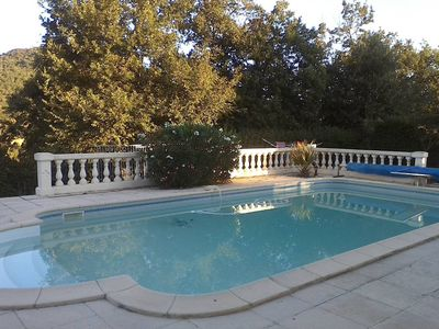 Photo for Quillan Villa, pool & lovely views