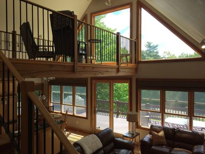 Photo for Beautiful 4 Season Mountain Lodge with views of Shawnee Peak!