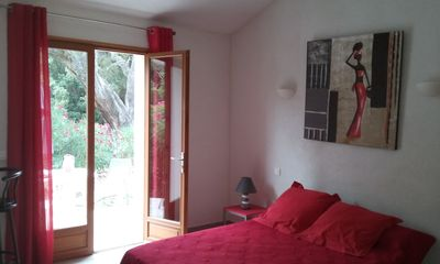 Photo for PALOMBAGGIA Air-conditioned studio in the heart of the maquis 700 meters from the beach