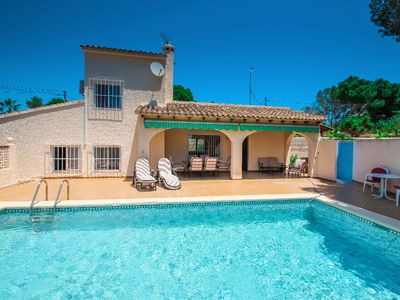 Photo for Linea - sea view villa with private pool in Teulada
