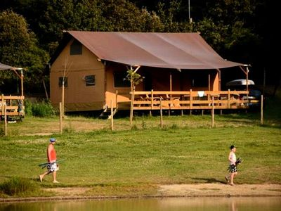 Photo for Camping Village Guyonnière ***** - Glamping Safari Lodge 3 Rooms 6 People