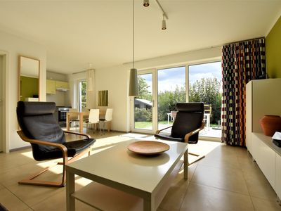 Photo for Ground floor apartment with private garden and terrace