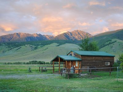 Photo for Dexter Peak Cabin at the base of the Beartooth Mountains, minutes to Yellowstone