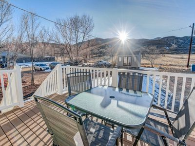 Photo for 2BR aptmt ✾ Parks ✾ Private deck, mountain views!