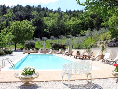 Photo for Beautiful villa in park with spectacular view and swimming pool