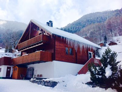 Photo for Family friendly wooden house for 4-5 persons in the Montafon! Perfect ski holidays!