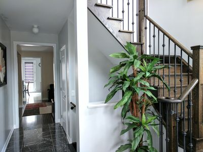 Photo for 4 Bedroom beautiful detached House near Wonderland, With Wi-Fi/Parking/Laundry