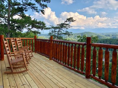 Photo for Fly Like an Eagle at Eagle's Perch!  4BR for 12 guests with stunning views!