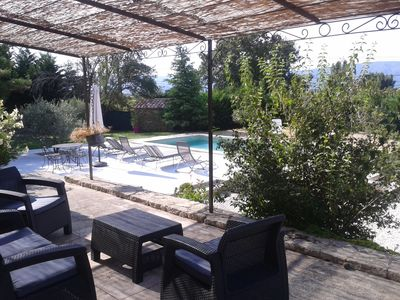 Photo for Villa with independent studio with pool