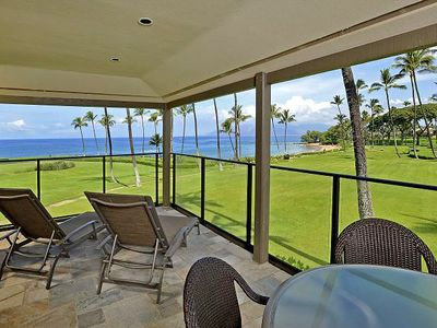 Photo for Wailea Elua 1904 - 2 Bedrooms, Beach Front, Remodeled, 2 Pools