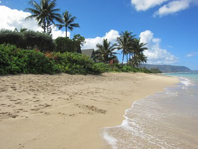 Photo for Oahu North Shore Cozy Condo Steps From The Beach