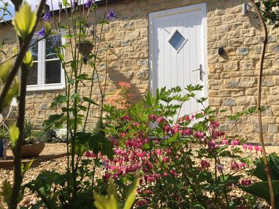 Photo for Lovely modern stone cottage in Stoke Bruerne close to the canal and Silverstone
