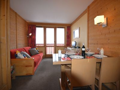 Photo for Bellefontaine - Stunning 1 bedroom-Sleeps 4 ski in/out apartment Les Coches