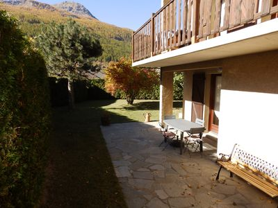 Photo for BRIANCON rental apartment in house with terrace and quiet garden
