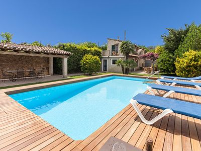 Photo for Rustic Villa Rafa for 4 guests, walking distance to Old Town Pollensa!