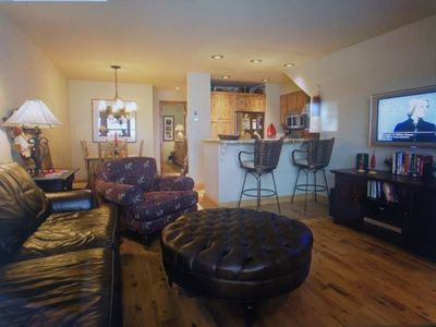 Photo for Ski In/Out Upscale 2BR Condo-At Coonskin Lift- HotTub, Enclose Parking BL#016200