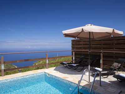 Photo for Family Cosy Villa with breathtaking ionian sunset sea view!