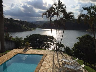 Photo for Farm in Closed Condominium and Foot in the water of the dam of Igaratá!
