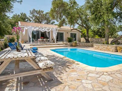 Photo for 3 bed 3 bath villa w/private pool, free A/C, quiet and peaceful, free Wi-Fi.