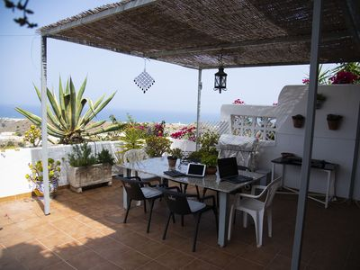 Photo for Apartment with large terrace and panoramic views