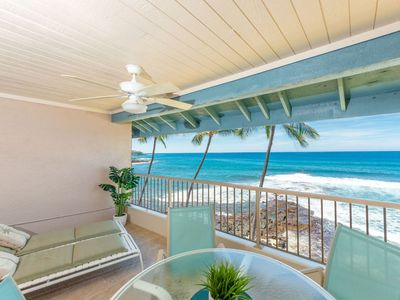 Photo for Ocean Front Deluxe | Top Floor | AC | Starts at $175/Night