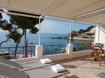 Photo for HOUSE IN CAP NEGRET. ALTEA 1st line of the beach. Wifi.