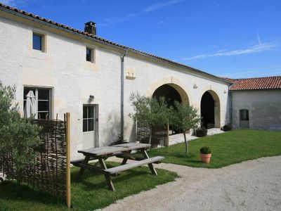 Photo for Les Vendangeurs - Sleeps 2+1 (1 Bedroom) - Stylish 4 star House With Heated Pool