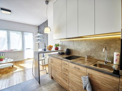 Photo for Luxury Bright studio on Hoza Street in the heart of Warsaw