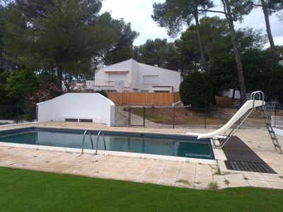 Photo for apartment T4 / T3 RESIDENCE LA BEGUDE pool / beach