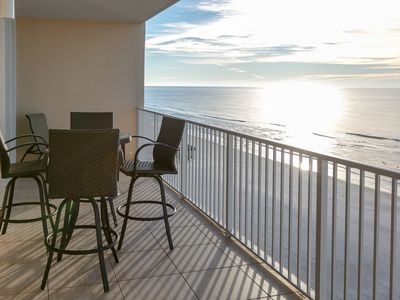 Photo for Beachfront condo w/ multiple community pools, a sun deck, & fitness center!
