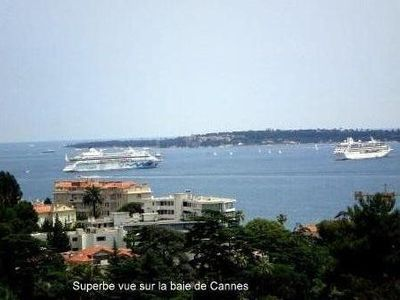 Photo for Lovely apartment in Croix des Gardes, bay view, air conditioning, Internet