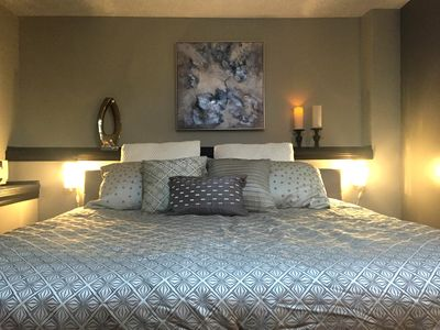 Quality linens and bedding.