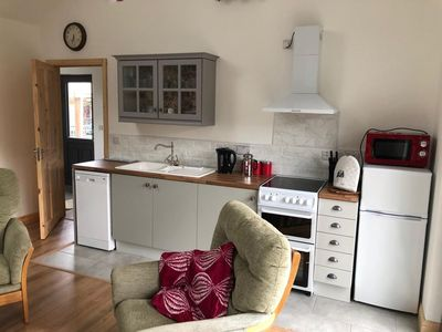 Photo for 2 Bedroom Cottage 10 minutes walk to Old Head beach and mountain views