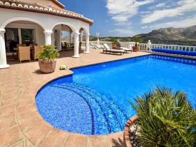 Photo for Vacation home Villa Alta Vista ***** in Dénia - 8 persons, 4 bedrooms