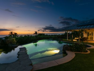 Photo for Kohala Ranch in the Heathers with Pool - OCEAN VIEWS - 30 day rental