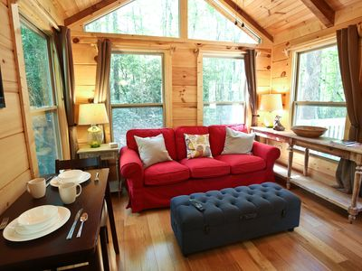 Photo for 1BR Cabin Vacation Rental in Brevard, North Carolina