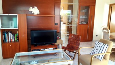 Photo for Central apartment in Platja.  Ideal for families 300 m from the beach