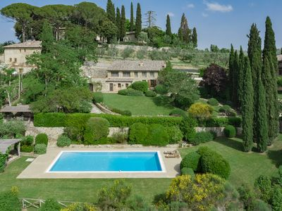 Photo for Luxury Chianti villa with 3 bedrooms, private pool, sauna, A / C and Wi-Fi