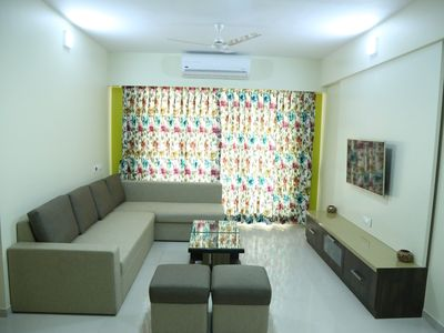 Photo for 3-BHK Fully Furnished Service apartment for 6 Packs.